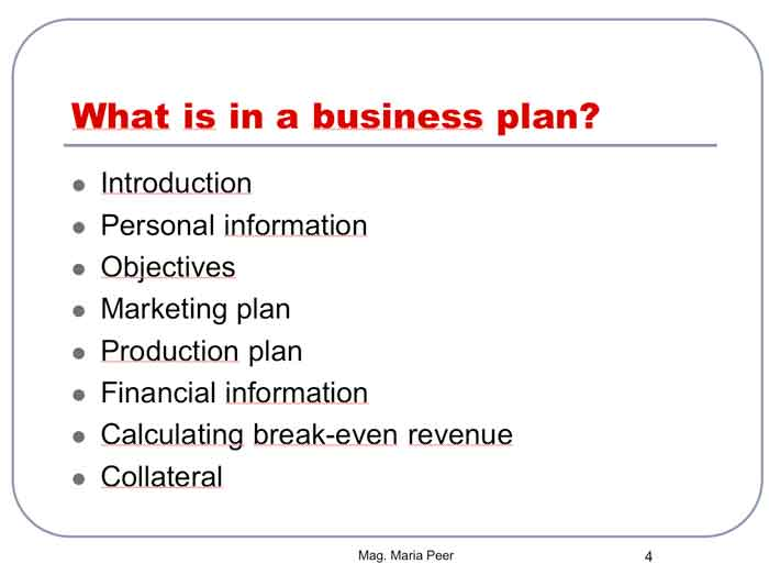 business proposal ppt